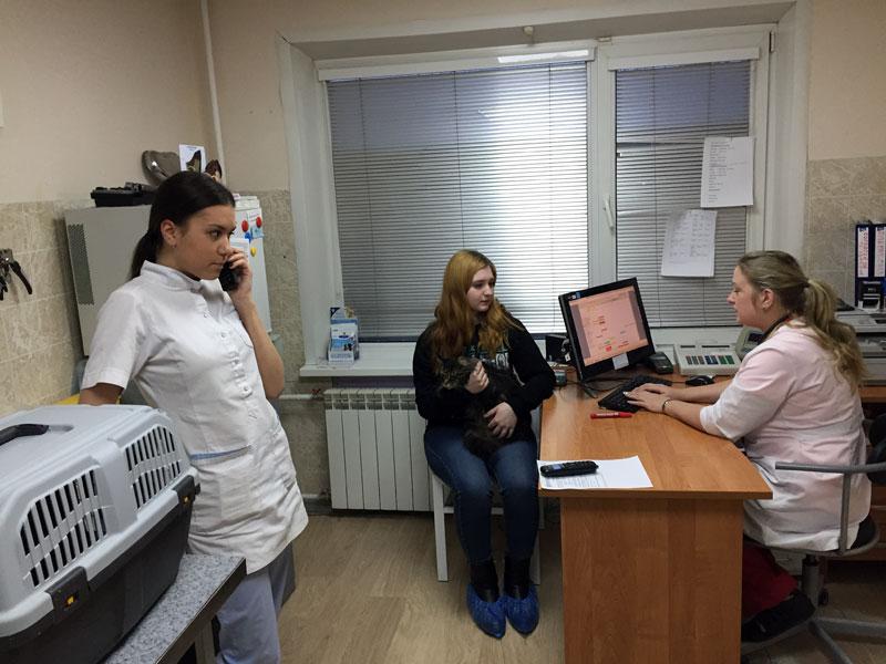 Олеся Шарапова на приеме